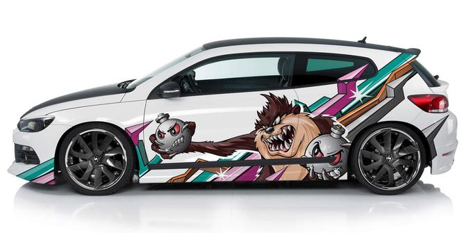 Виниловая рисунок для автомобилей